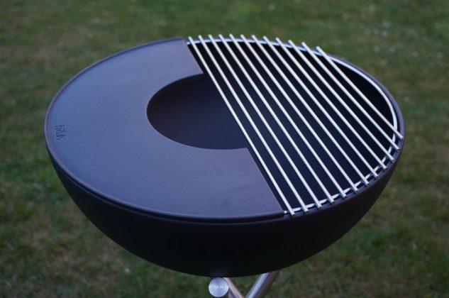 höfats bowl-Hoefats Bowl Feuerschale Grill Plancha 01 633x420-Höfats Bowl – multifunktionale Feuerschale, Grill und Plancha