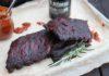 Rippchen mit Bier-BBQ-Sauce