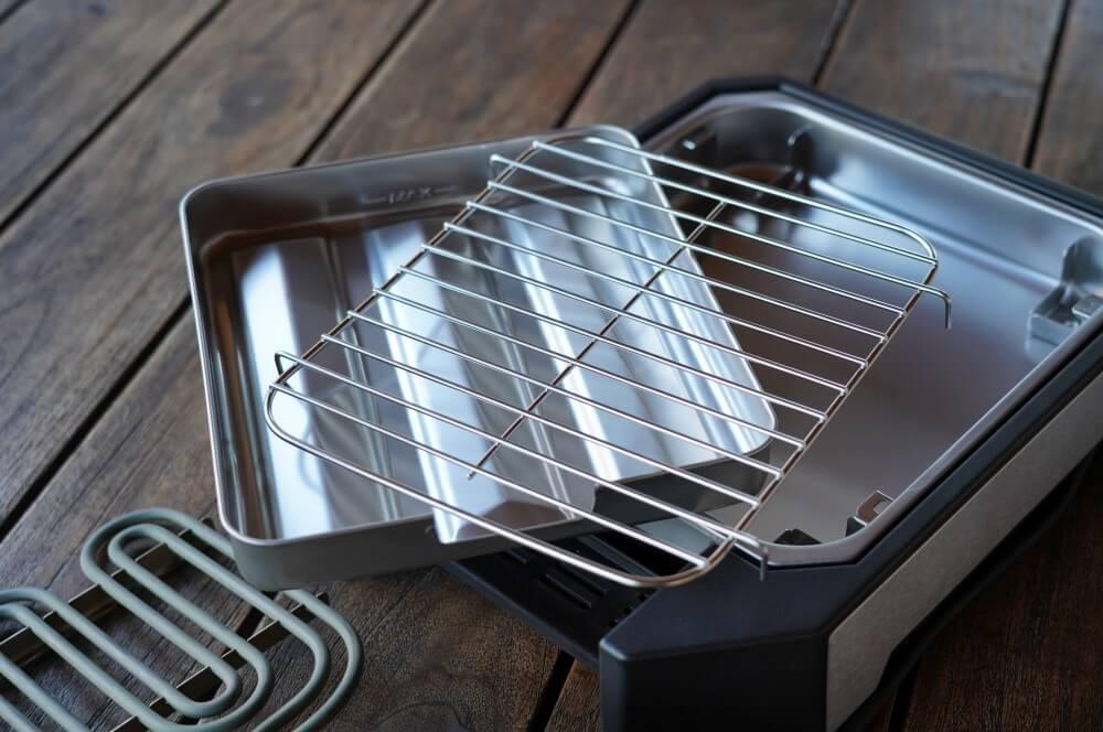 Das Severin Steakboard besteht aus vier Einzelteilen severin steakboard-Severin Steak Board Test 05-Severin Steakboard im Test – Schafft der Steakgrill wirklich 500°C?