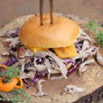pulled duck burger-Pulled Duck Burger 05 150x150-Pulled Duck Burger mit gebratenem Kohl und Orangen