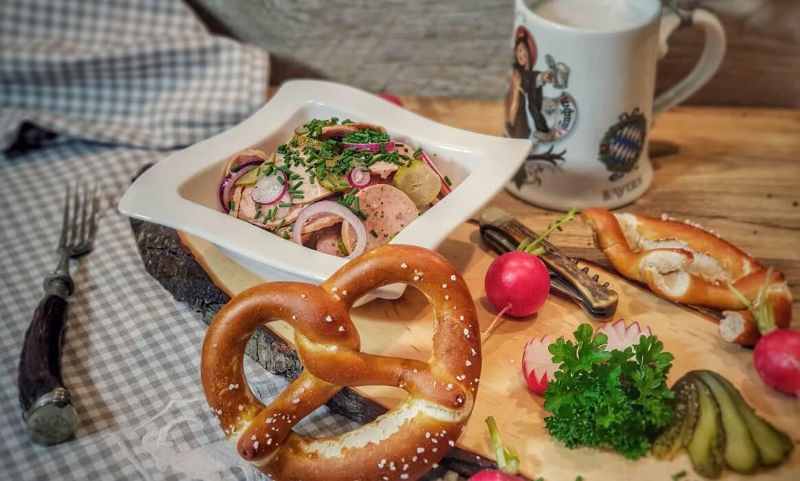Wurstsalat bayrischer wurstsalat-Bayrischer Wurstsalat-Bayrischer Wurstsalat