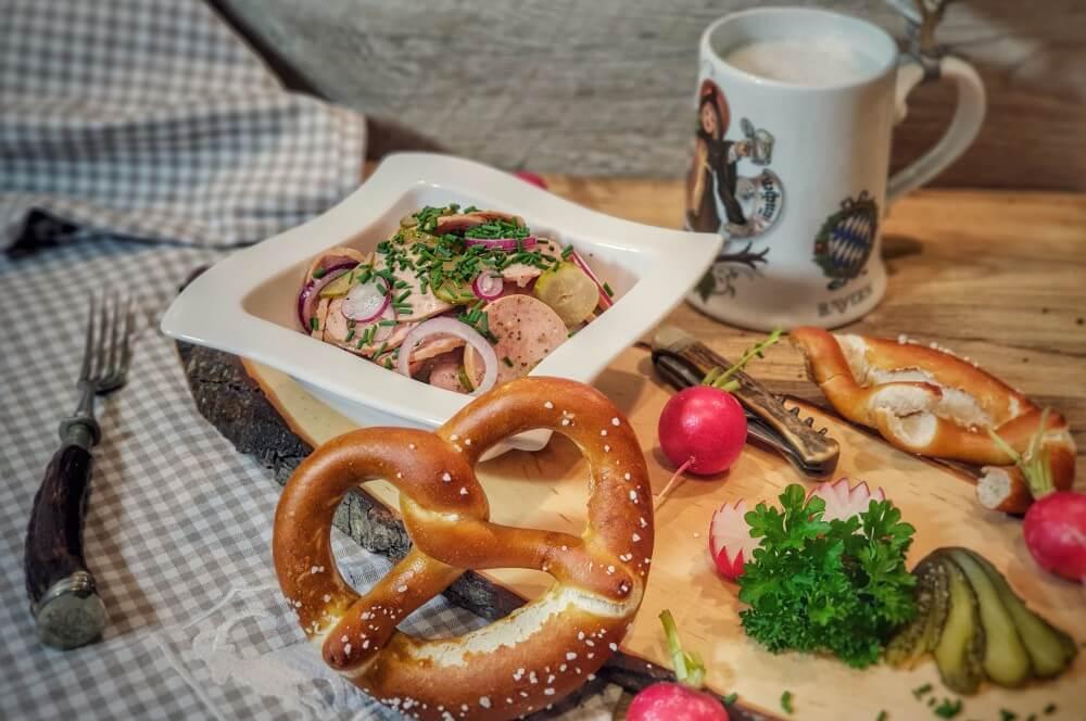 Bayrischer Wurstsalat bayrischer wurstsalat-Bayrischer Wurstsalat 02-Bayrischer Wurstsalat