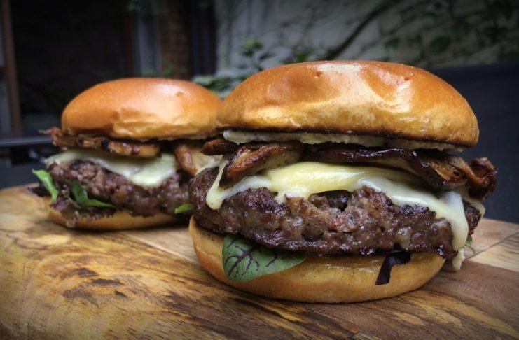 Steinpilz-Burger