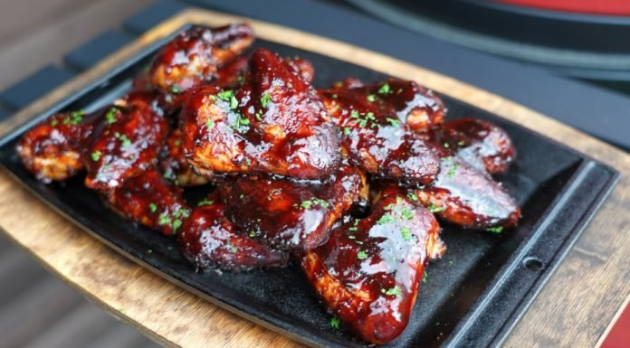 Cherry Chicken Wings