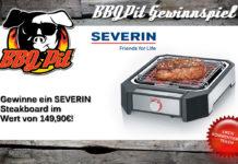 Gewinne ein SEVERIN Steakboard