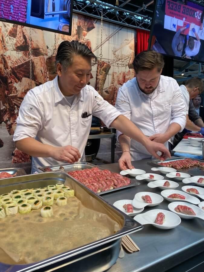 Yoshizumi Nagaya bereitet Kobe-Sushi zu albers excellence 2019-Albers Excellence 2019 11-Albers Excellence 2019 from farm to table