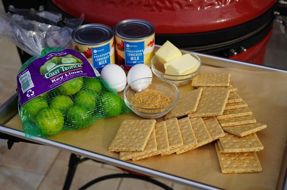 Alle Zutaten für den Key Lime Pie auf einen Blick key lime pie-Key Lime Pie 01-Key Lime Pie – Das Original-Rezept aus Florida