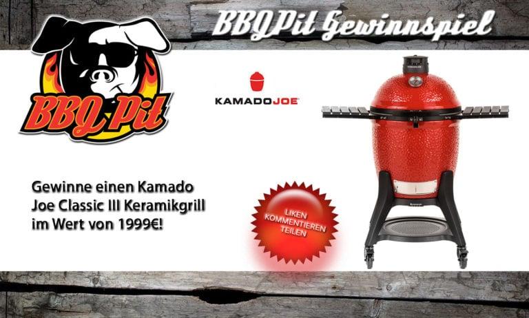 Gewinne einen Kamado Joe Classic III Keramikgrill im Wert von 1999€
