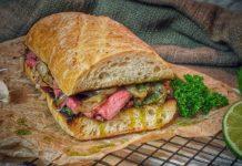 Cuban Steak Sandwich
