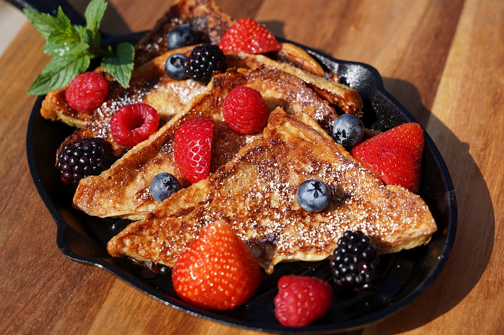 French Toast mit frischen Früchten french toast-French Toast Armer Ritter 04-French Toast mit Früchten – Armer Ritter auf amerikanisch