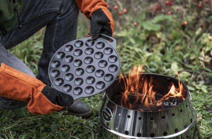Petromax Poffertjespfanne