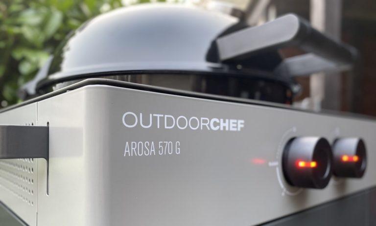 Outdoorchef Arosa 570 G Grey Steel – Perfektion des Gas-Kugelgrills