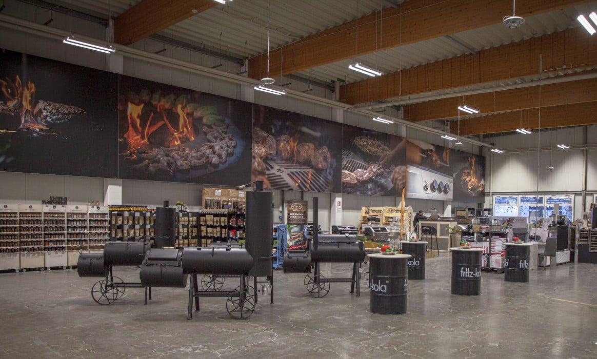 Grillfürst Dormagen -Grillfuerst Rheinland Eroeffnung Store Dormagen-