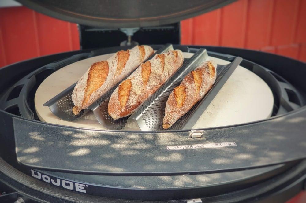 Baguette aus dem Grill baguette-Baguette backen franzoesisches baguette 08-Baguette backen – Französisches Baguette selber machen