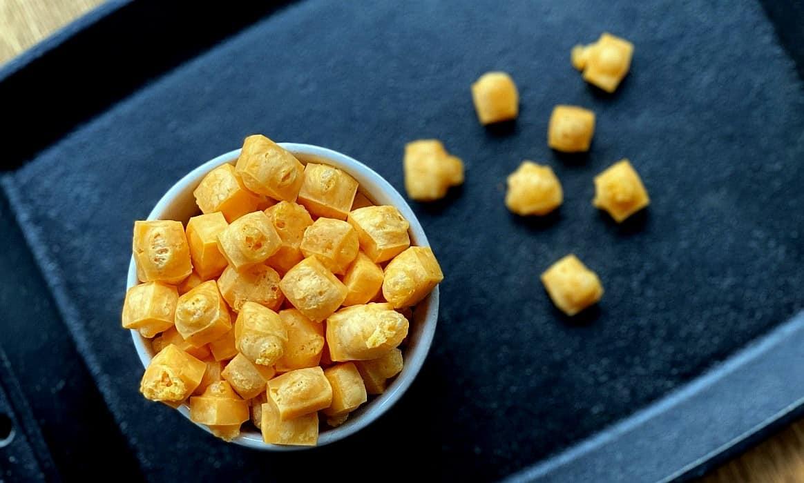 Käse Pops -Kaese Pops Cheese gepuffter Kaese pops-