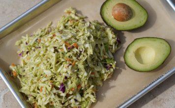 Avocado Krautsalat memyself bbqpit-Avocado Slaw Krautsalat Coleslaw 356x220-Über BBQPit
