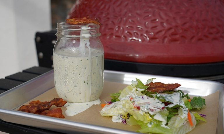 Buttermilch-Bacon-Dressing