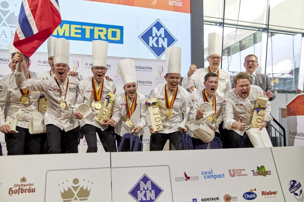 Norwegen gewinnt die Olympiade der Köche (Bildquelle: IKA/Culinary Olympics) olympiade der köche-Olympiade der Koeche IKA Culinary Olympics 14-Olympiade der Köche – IKA Culinary Olympics 2020 in Stuttgart