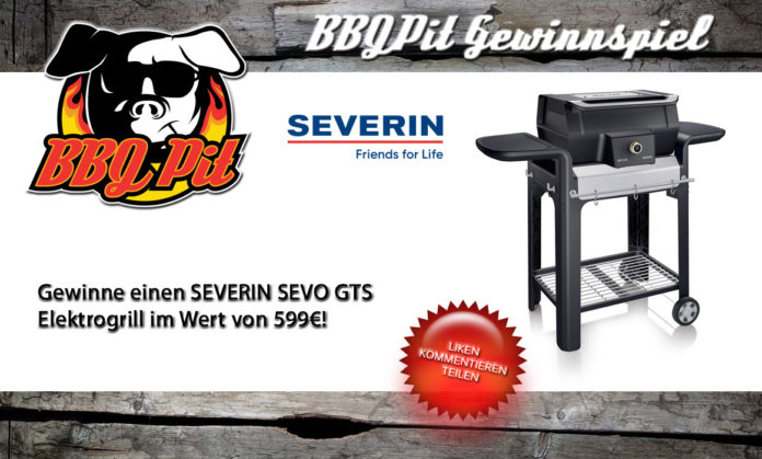 Gewinne einen SEVERIN SEVO GTS Elektrogrill im Wert von 599€