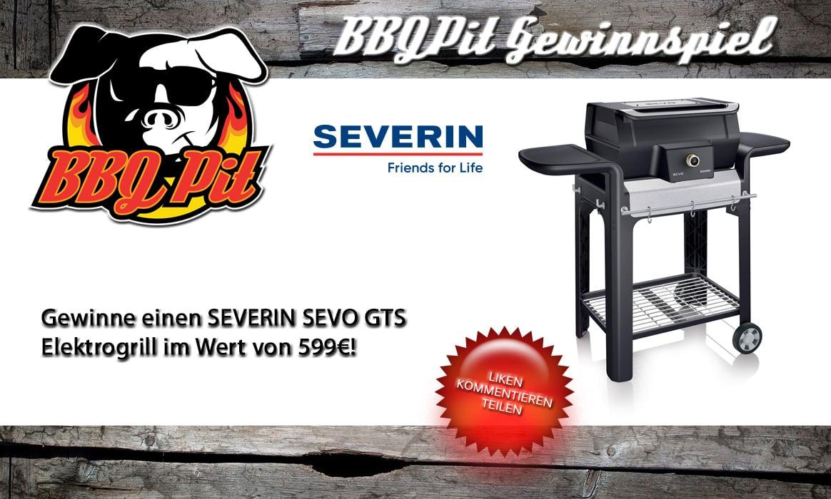 gewinne einen severin sevo gts-Gewinnspiel Severin Sevo GTS-Gewinne einen SEVERIN SEVO GTS Elektrogrill im Wert von 599€