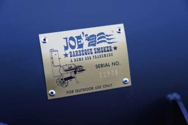 joe's barbeque smoker-Joes BBQ Smoker 16 Reverse Flow 04 633x420-Joe's Barbeque Smoker 16″ Reverse Flow im Test