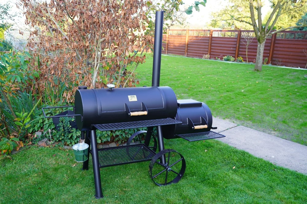 "Joe's Barbeque Smoker 16"" Reverse Flow joe's barbeque smoker-Joes BBQ Smoker 16 Reverse Flow 14-Joe's Barbeque Smoker 16″ Reverse Flow im Test"