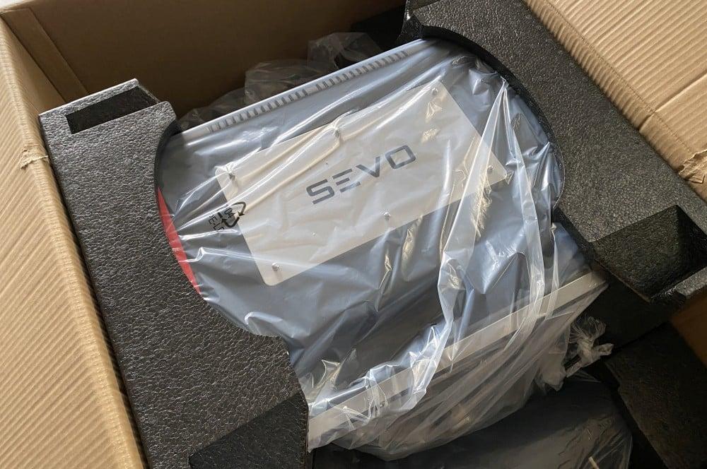Der Severin SEVO GTS ist gut verpackt severin sevo gts-Severin Sevo GTS Elektrogrill Test 02-Severin SEVO GTS Elektrogrill im Test