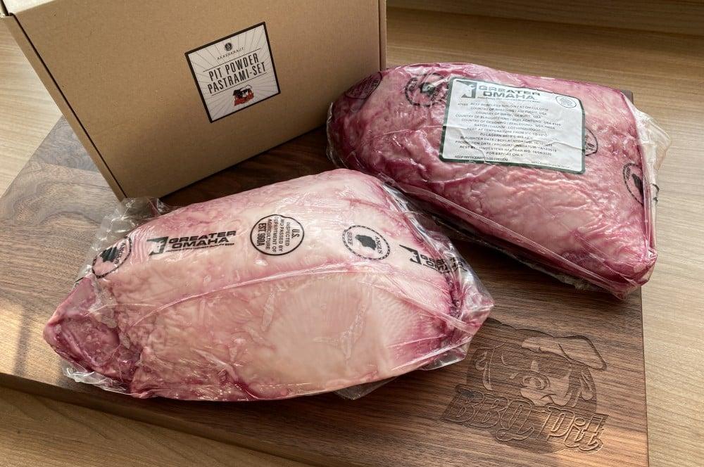 Greater Omaha Tafelspitz wird als Ausgangsprodukt verwendet tafelspitz-pastrami-Tafelspitz Pastrami 01-Tafelspitz-Pastrami