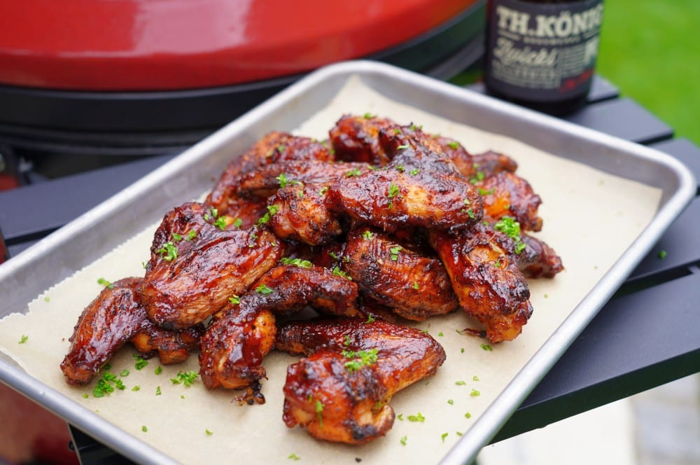 Beer-Brined Chicken Wings mit Bier-BBQ-Sauce beer-brined chicken wings-Beer Brined Chicken Wings 06-Beer-Brined Chicken Wings