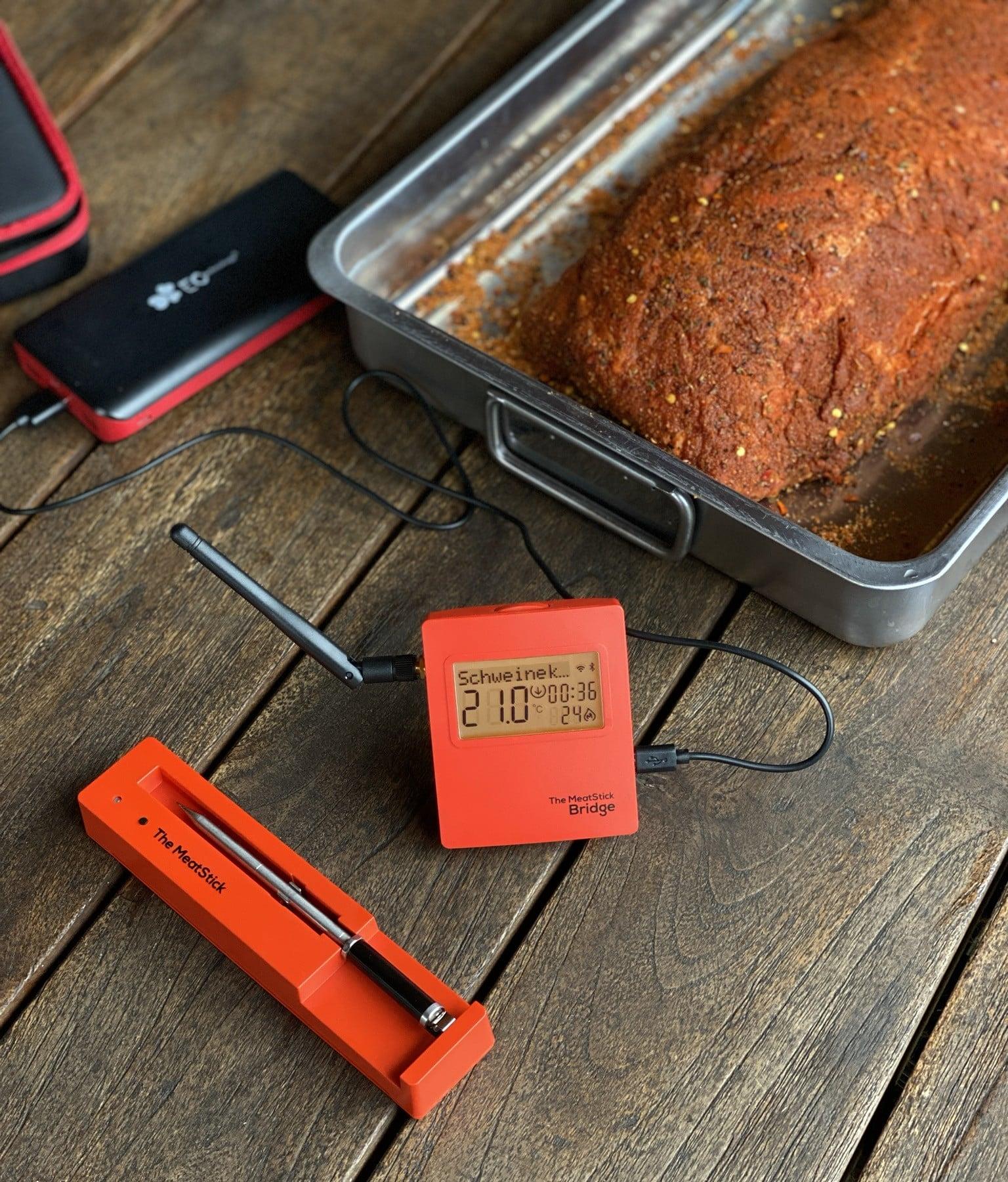 Der MeatStick im Test meatstick-MeatStick Fleischthermometer Test 02-MeatStick Fleischthermometer im BBQPit-Test