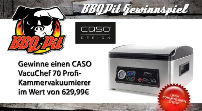 Gewinne einen CASO VacuChef 70 Kammervakuumierer