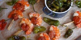 Chorizo Garnelen Tapas
