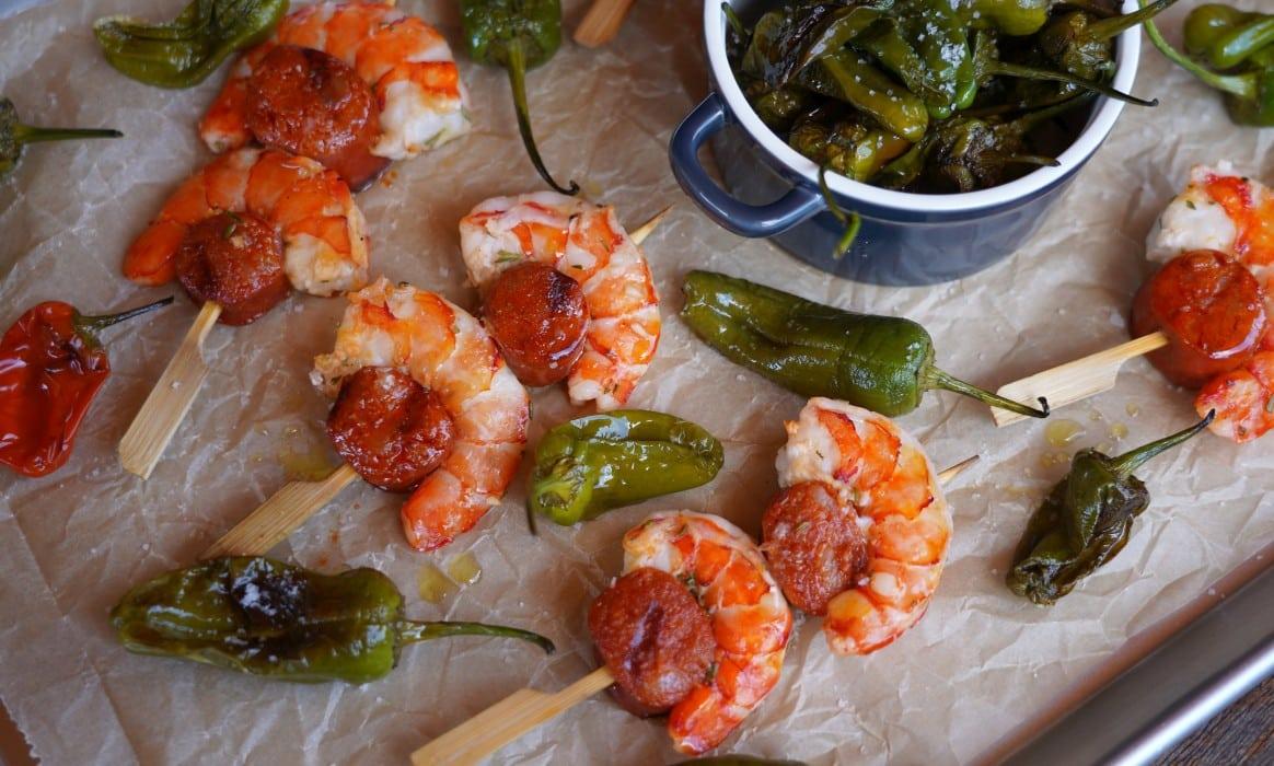 Chorizo Garnelen Tapas chorizo garnelen-Chorizo Garnelen Tapas-Chorizo Garnelen – ideales Tapas & Fingerfood Rezept