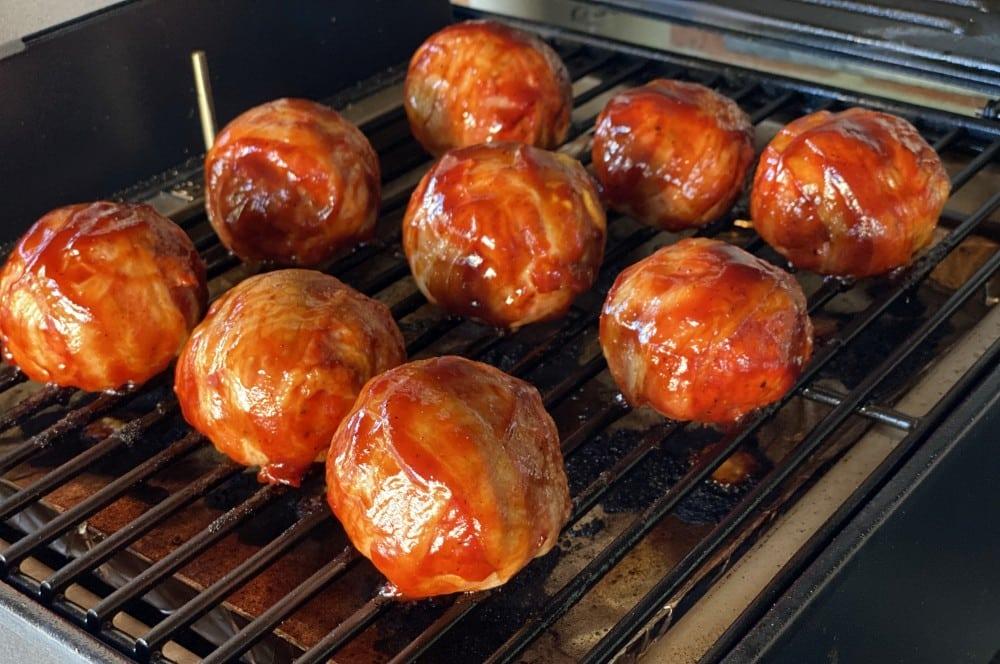 Die Meatballs brauchen 45 Minuten bei 180°C traeger ranger-Traeger Ranger Pelletgrill Test 12-Traeger Ranger Pelletgrill im Test