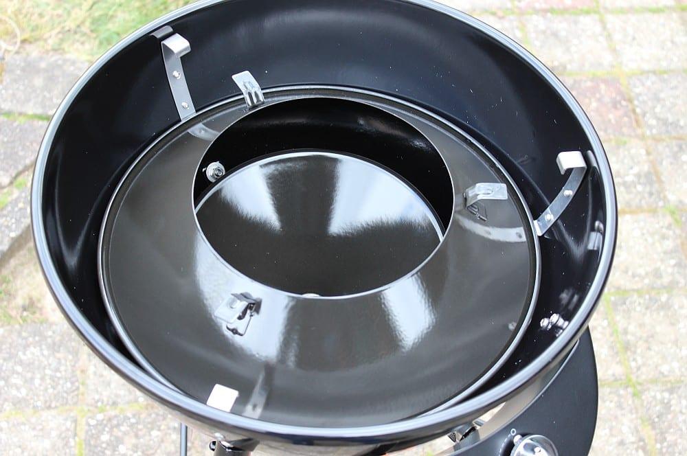 Das Trichtersystem in Vulkanposition outdoorchef chelsea 420 g-Outdoorchef Chelsea 420G Caming Bag 09-Outdoorchef Chelsea 420 G mit Camping Bag – der mobile Gasgrill