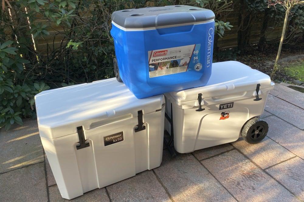 kühlbox-test-Kuehlbox Test Petromax Yeti Coleman 01-Kühlbox-Test – Petromax kx50, Coleman & YETI im Vergleich