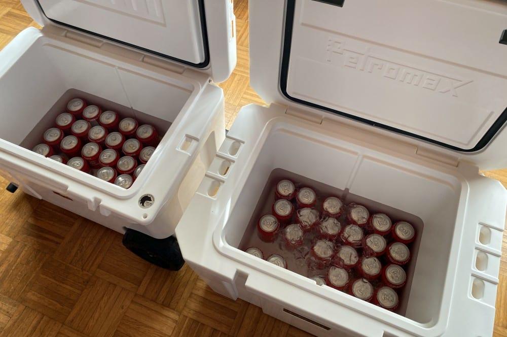 An Tag 9 scheidet die YETI Tundra Haul aus kühlbox-test-Kuehlbox Test Petromax Yeti Coleman 16-Kühlbox-Test – Petromax kx50, Coleman & YETI im Vergleich