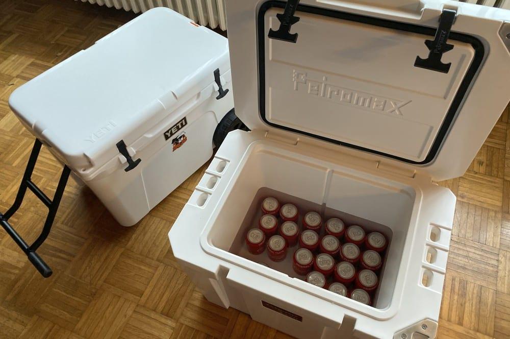 Die Petromax kx50 gewinnt unseren Kühlbox-Test kühlbox-test-Kuehlbox Test Petromax Yeti Coleman 17-Kühlbox-Test – Petromax kx50, Coleman & YETI im Vergleich
