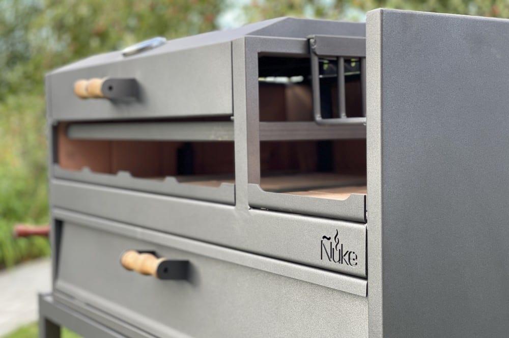 Der Ñuke Delta ist tadellos verarbeitet Ñuke delta-Nuke Delta Test Argentinischer Grill 08-Ñuke Delta – Argentinischer Holzkohlegrill im Test