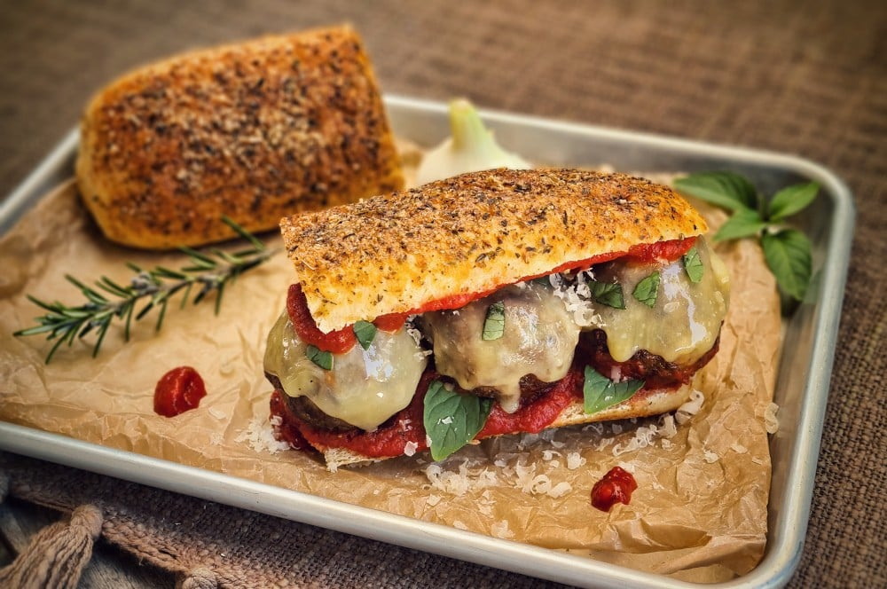 Das Italian Meatball Sandwich ist fertig italian meatball sandwich-Italian Meatball Sandwich 04-Italian Meatball Sandwich