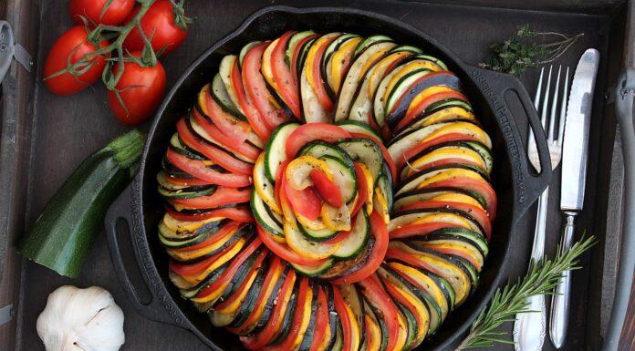 Geschmorte Gemüsepfanne