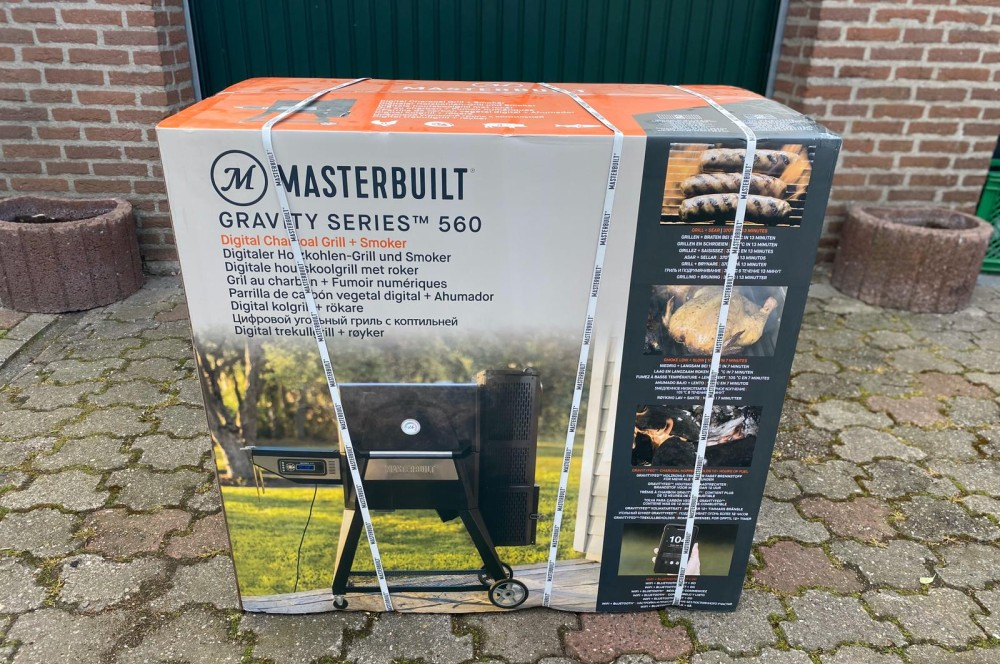 So wird der Masterbuilt Gravity Series 560 geliefert masterbuilt gravity series 560-Masterbuilt Gravity Series 560 Smoker Test 01-Masterbuilt Gravity Series 560 Smoker im Test