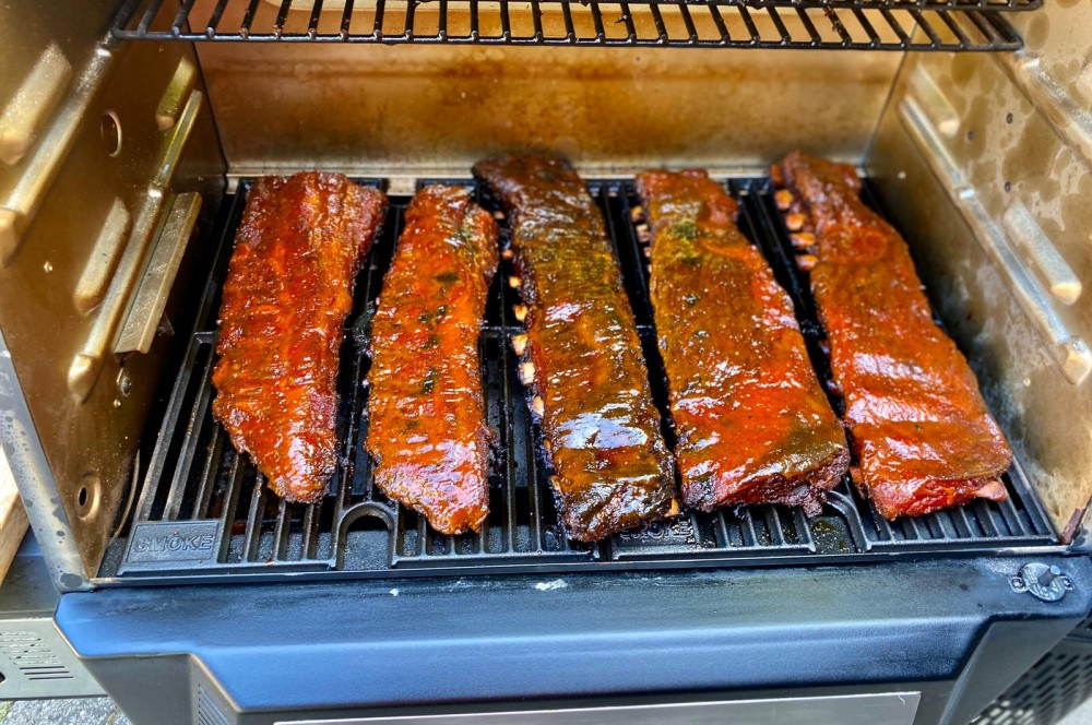 Spare Ribs im Masterbuilt Gravity Series 560 masterbuilt gravity series 560-Masterbuilt Gravity Series 560 Smoker Test 10-Masterbuilt Gravity Series 560 Smoker im Test