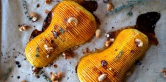 Hasselback Butternut Pumpkin [object object]-Faecherkuerbis Hasselback Butternut Pumpkin 324x160-BBQPit.de das Grill- und BBQ-Magazin – Grillblog & Grillrezepte –