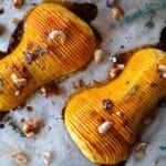 fächerkürbis-Faecherkuerbis Hasselback Butternut Pumpkin 06 150x150-Fächerkürbis – Hasselback Butternut Pumpkin