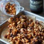 karamellisierte nüsse-Karamellisierte Bier Nuesse 06 150x150-Karamellisierte Nüsse mit Bier & Bacon