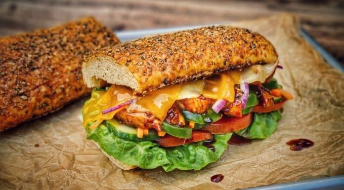 Chicken Teriyaki Sandwich