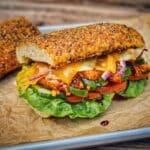 chicken teriyaki sandwich-Chicken Teriyaki Sandwich 05 150x150-Chicken Teriyaki Sandwich