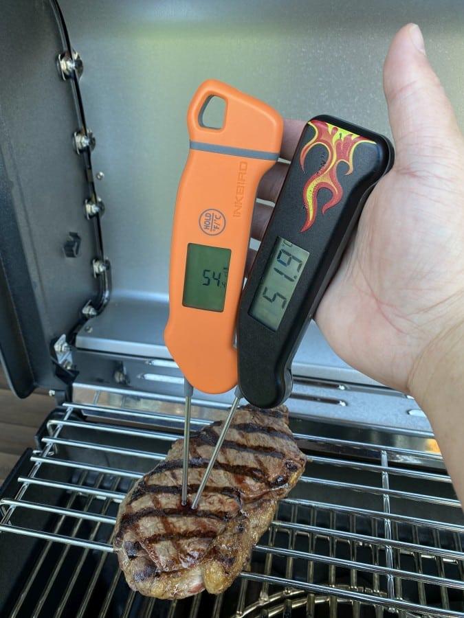 Das Inkbird IHT-1S ist schneller als das Thermapen 3 inkbird iht-1s-Inkbird IHT 1S Thermometer Test 06-Inkbird IHT-1S Einstichthermometer im Test