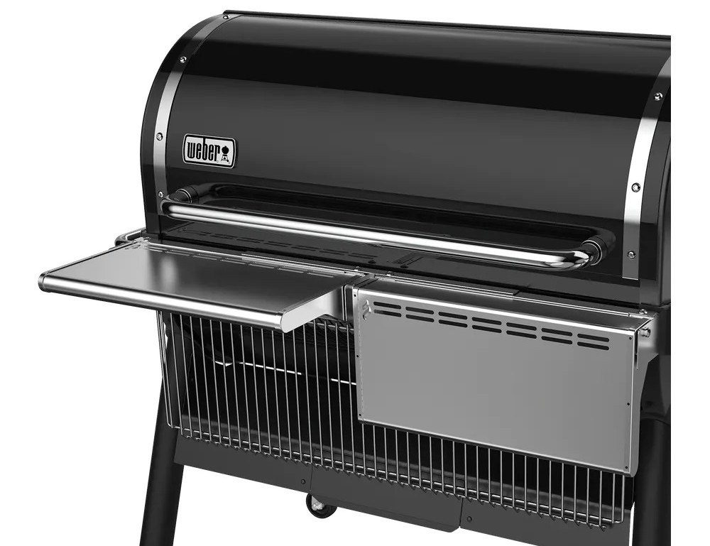Neues Zubehör für den Weber SmokeFire Pelletgrill weber grill neuheiten 2021-Weber Grill Neuheiten 2021 klappbare Ablage SmokeFire-Weber Grill Neuheiten 2021